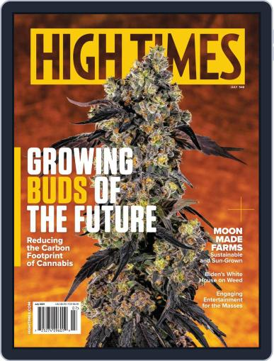 High Times Magazine (Digital) July 1st, 2021 Issue Cover