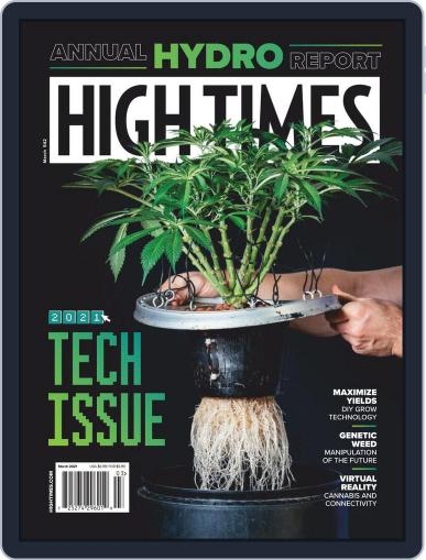 High Times Magazine (Digital) March 1st, 2021 Issue Cover