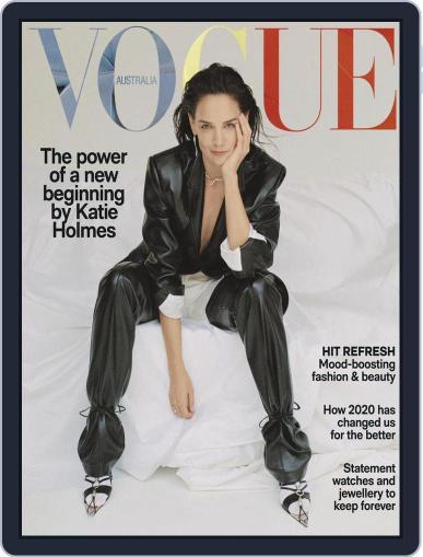 Vogue Australia Magazine (Digital) November 1st, 2020 Issue Cover