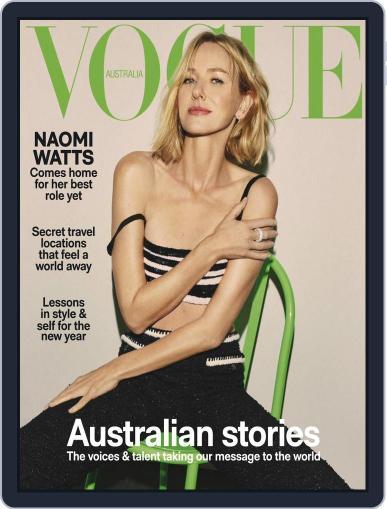 Vogue Australia Magazine (Digital) January 1st, 2021 Issue Cover