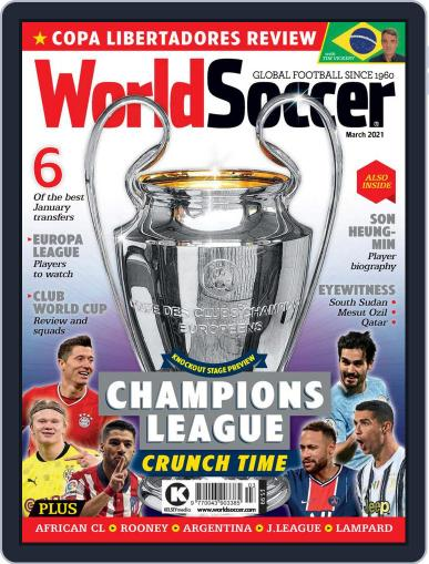 World Soccer Magazine (Digital) March 1st, 2021 Issue Cover