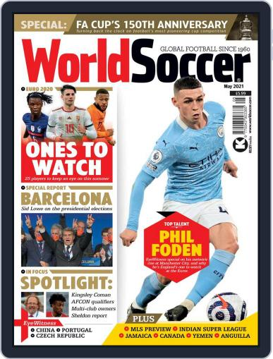 World Soccer Magazine (Digital) May 1st, 2021 Issue Cover