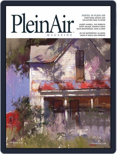 Pleinair Magazine (Digital) August 1st, 2020 Issue Cover