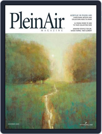 Pleinair Magazine (Digital) October 1st, 2020 Issue Cover