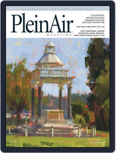 Pleinair Magazine (Digital) April 1st, 2021 Issue Cover