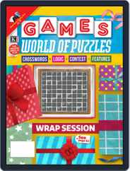 Games World of Puzzles Magazine (Digital) Subscription December 1st, 2020 Issue