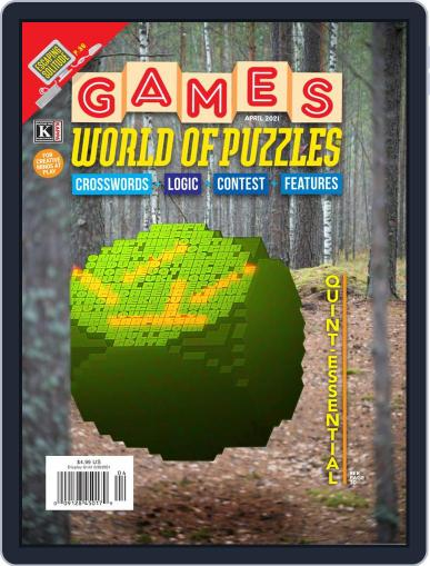 Games World of Puzzles Magazine (Digital) April 1st, 2021 Issue Cover