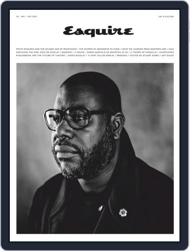 Esquire UK Magazine (Digital) November 1st, 2020 Issue Cover