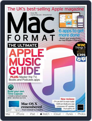 MacFormat Magazine (Digital) October 1st, 2020 Issue Cover