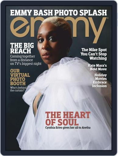 Emmy Magazine (Digital) November 1st, 2020 Issue Cover
