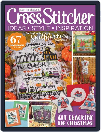 CrossStitcher Magazine (Digital) October 1st, 2020 Issue Cover