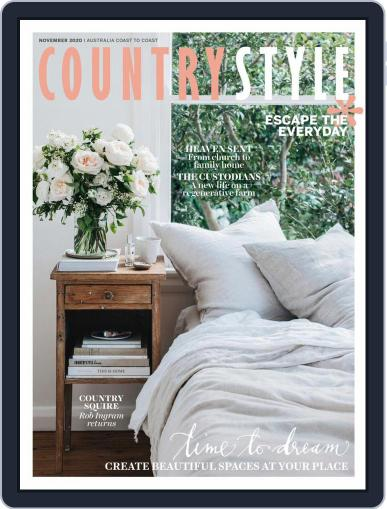 Country Style Magazine (Digital) November 1st, 2020 Issue Cover