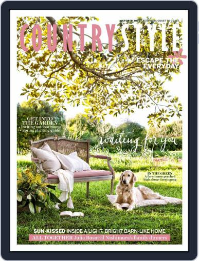 Country Style Magazine (Digital) October 1st, 2020 Issue Cover