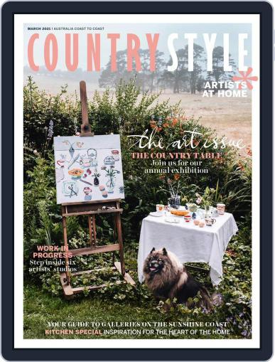Country Style Magazine (Digital) March 1st, 2021 Issue Cover