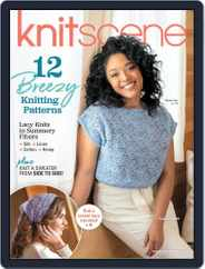 Knitscene Magazine (Digital) Subscription March 12th, 2020 Issue