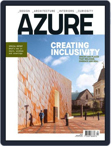 AZURE Magazine (Digital) March 1st, 2021 Issue Cover