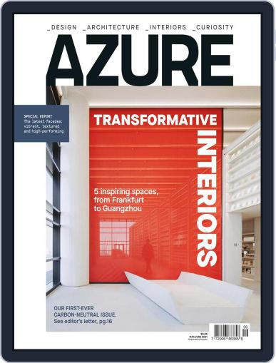 AZURE Magazine (Digital) May 1st, 2021 Issue Cover