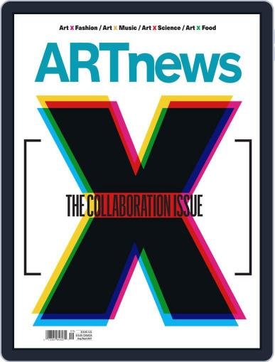 ARTnews Magazine (Digital) August 1st, 2021 Issue Cover