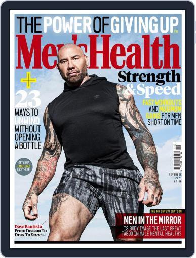 Men's Health UK Magazine (Digital) November 1st, 2021 Issue Cover