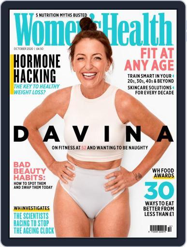 Women's Health UK Magazine (Digital) October 1st, 2020 Issue Cover