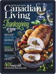 Canadian Living Magazine (Digital) Subscription October 1st, 2020 Issue