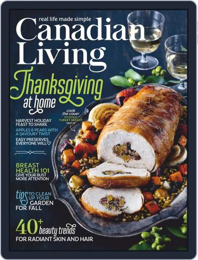 Canadian Living Magazine (Digital) October 1st, 2020 Issue Cover