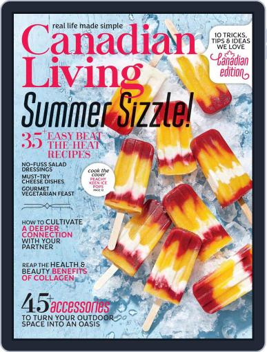 Canadian Living Magazine (Digital) July 1st, 2021 Issue Cover