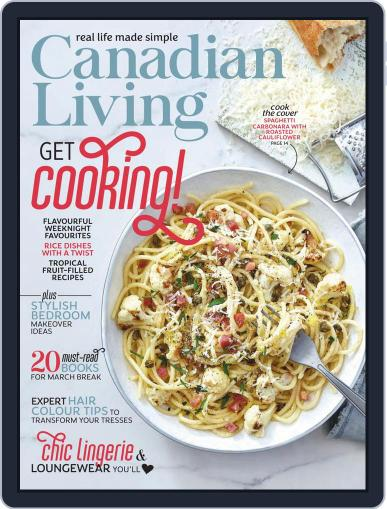 Canadian Living Magazine (Digital) March 1st, 2021 Issue Cover