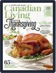 Canadian Living Magazine (Digital) Subscription October 1st, 2021 Issue