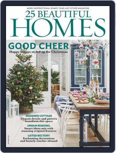 25 Beautiful Homes Magazine (Digital) December 1st, 2020 Issue Cover