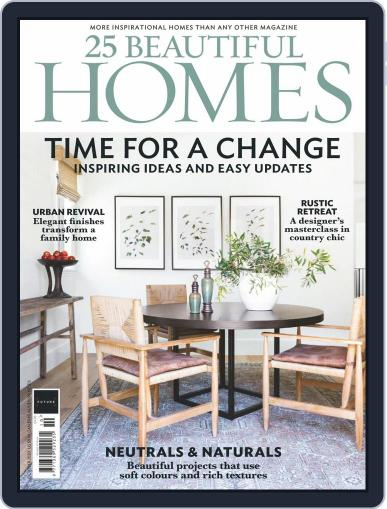 25 Beautiful Homes Magazine (Digital) October 1st, 2020 Issue Cover