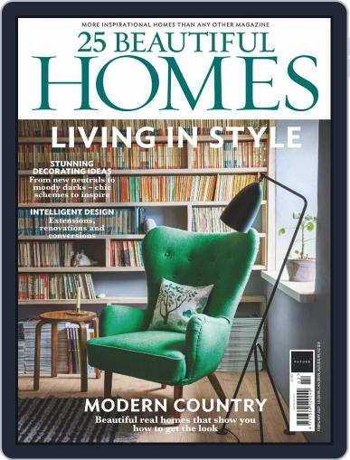 25 Beautiful Homes Magazine (Digital) February 1st, 2021 Issue Cover