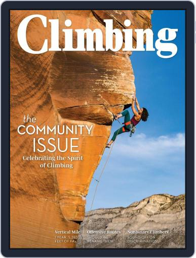 Climbing Magazine (Digital) September 1st, 2020 Issue Cover