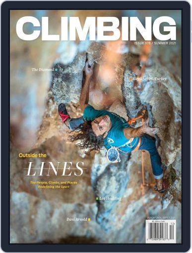Climbing Magazine (Digital) June 8th, 2021 Issue Cover