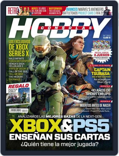 Hobby Consolas Magazine (Digital) September 1st, 2020 Issue Cover
