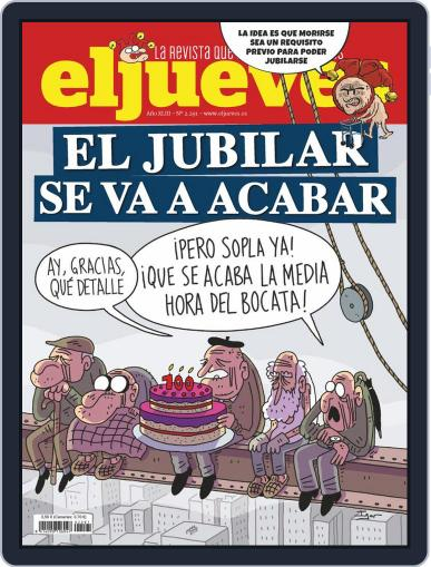 El Jueves Magazine (Digital) April 20th, 2021 Issue Cover