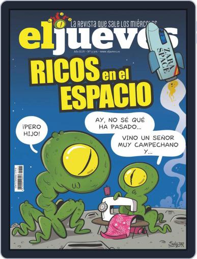 El Jueves Magazine (Digital) July 27th, 2021 Issue Cover