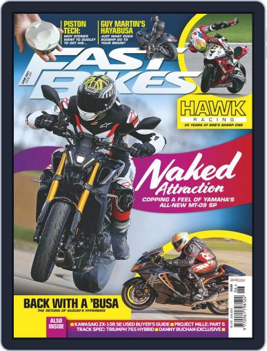 Fast Bikes Magazine (Digital) June 1st, 2021 Issue Cover