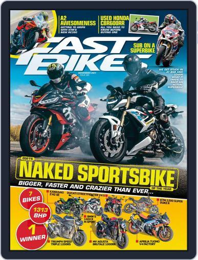 Fast Bikes Magazine (Digital) November 1st, 2021 Issue Cover