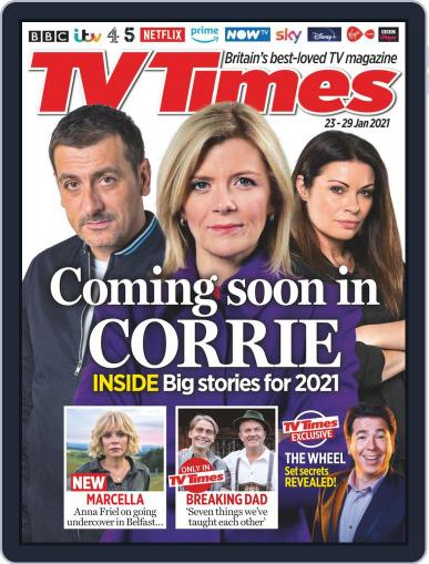TV Times Magazine (Digital) January 23rd, 2021 Issue Cover