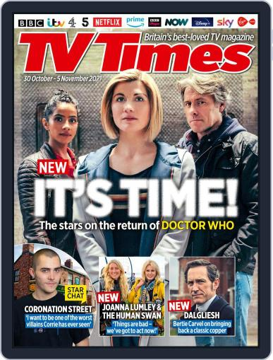TV Times Magazine (Digital) October 30th, 2021 Issue Cover