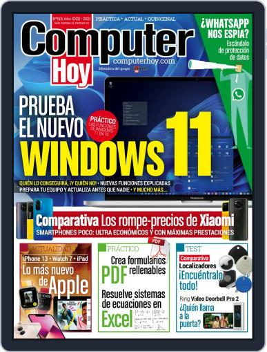 Computer Hoy Magazine (Digital) October 14th, 2021 Issue Cover