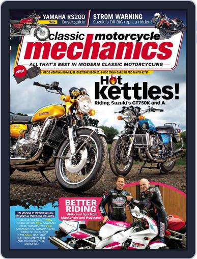 Classic Motorcycle Mechanics Magazine (Digital) November 1st, 2020 Issue Cover