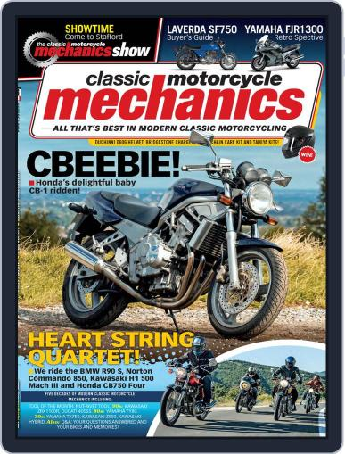 Classic Motorcycle Mechanics Magazine (Digital) October 1st, 2021 Issue Cover