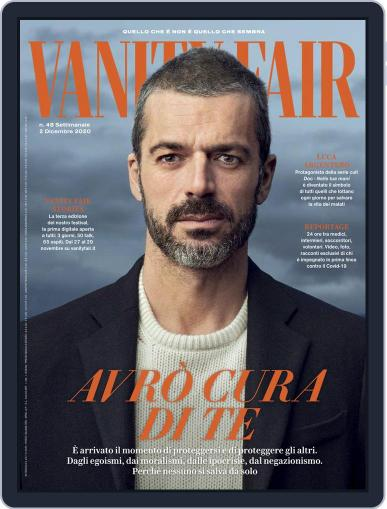 Vanity Fair Italia Magazine (Digital) December 1st, 2020 Issue Cover