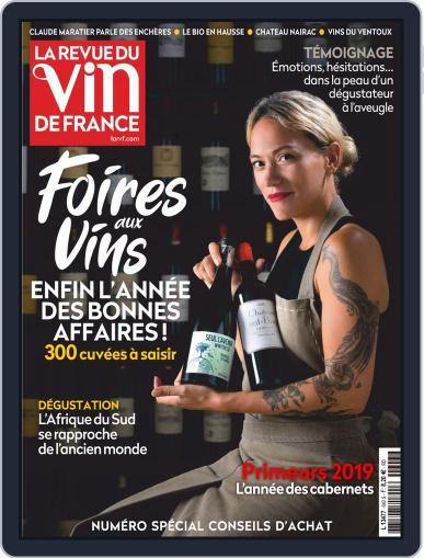 La Revue Du Vin De France Magazine (Digital) September 1st, 2020 Issue Cover