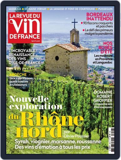La Revue Du Vin De France Magazine (Digital) May 1st, 2021 Issue Cover