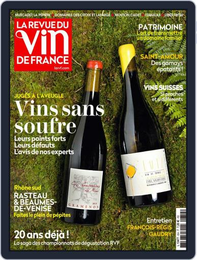 La Revue Du Vin De France Magazine (Digital) October 1st, 2021 Issue Cover