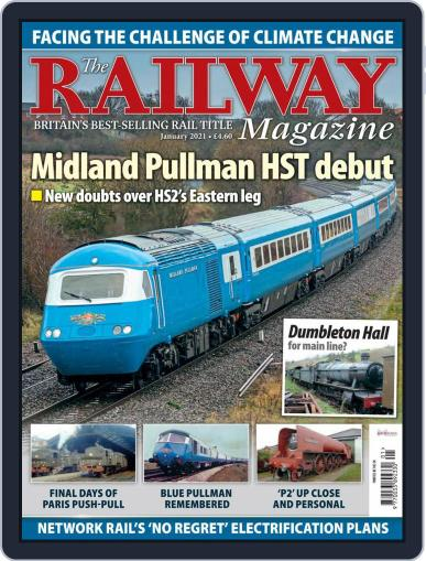 The Railway Magazine (Digital) January 1st, 2021 Issue Cover