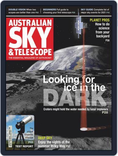 Australian Sky & Telescope Magazine (Digital) January 1st, 2021 Issue Cover